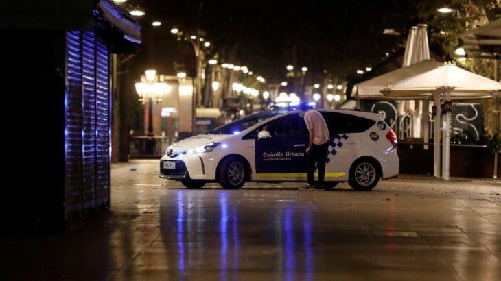 Barcelona'da gece sokağa çıkma yasağı