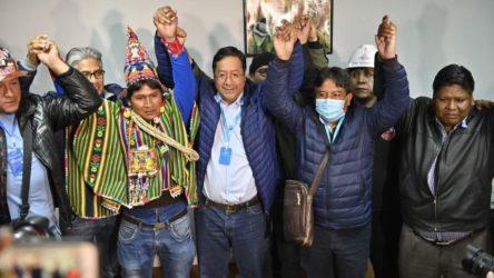 Bolivya'daki seçimi sosyalist aday kazandı