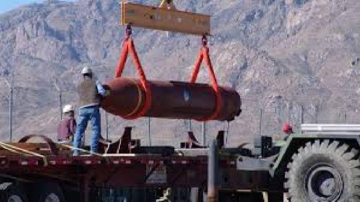 ABD'den İsrail'e 14 bin tonluk 'hediye bomba'