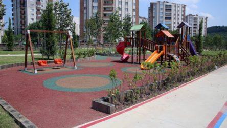 Çocuk parkı benzinliğe çevriliyor