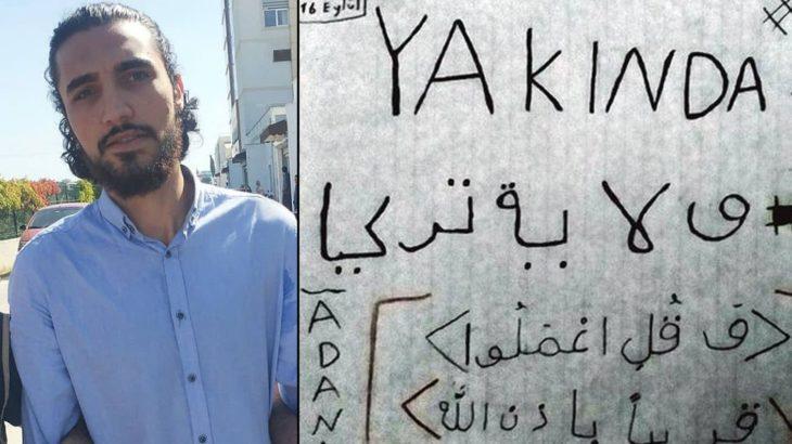 IŞİD'in Türkiye emirinin fedaisi 'intikam yemini' etmiş