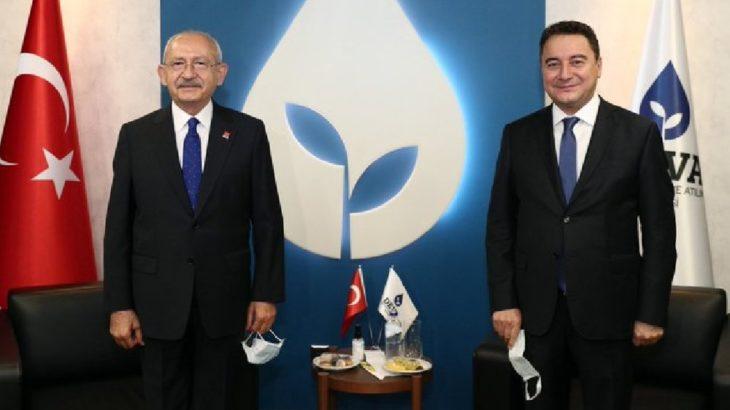 Kılıçdaroğlu, Babacan ile buluştu