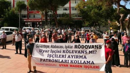 Maden işçileri Ankara'ya yürüyor