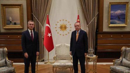 Erdoğan ve NATO Genel Sekreteri Stoltenberg ile görüştü