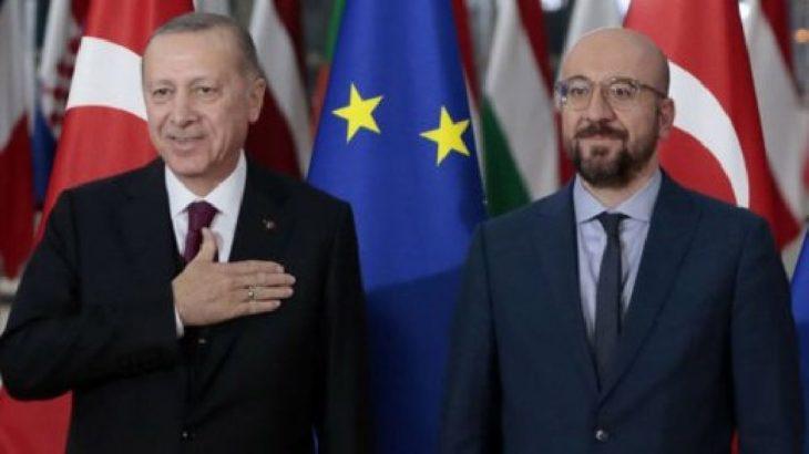 Erdoğan'dan AB görüşmesi