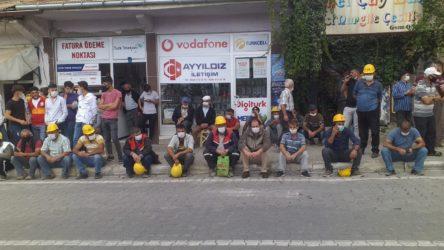 Ermenek'te maden işçisine polis ablukası!
