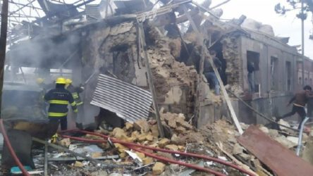 Ermenistan füzelerle saldırdı: 5 ölü, 28 yaralı