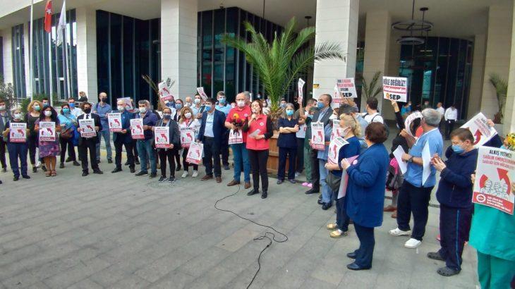 DİSK: Sağlık işçisi köle değildir
