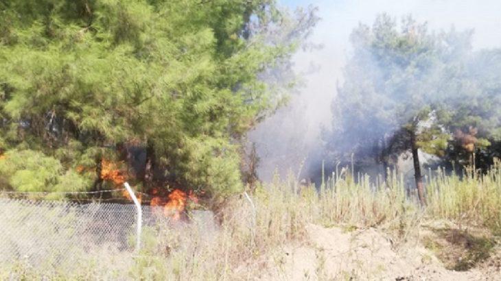 İskenderun'da yangın