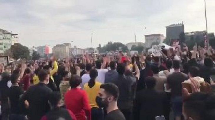 Cihatçılardan İstanbul'un göbeğinde gövde gösterisi!