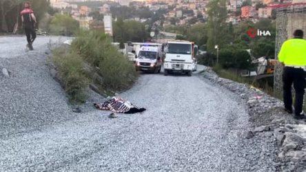 İstanbul'da hafriyat kamyonunun altında kalan işçi hayatını kaybetti
