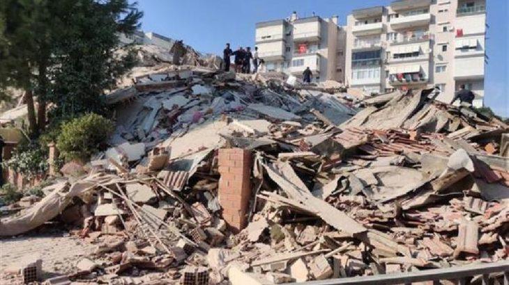 İzmir'de can kaybı 62'ye yükseldi