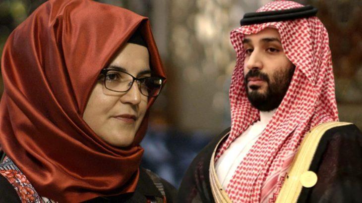 Kaşıkçı'nın nişanlısı Hatice Cengiz Suudi Arabistan Veliaht Prensi Selman'a dava açtı