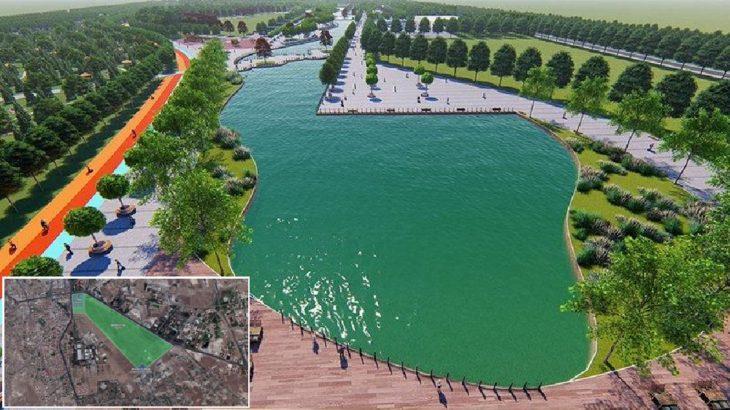 Kayseri'de 101 milyon liraya 'millet bahçesi'!
