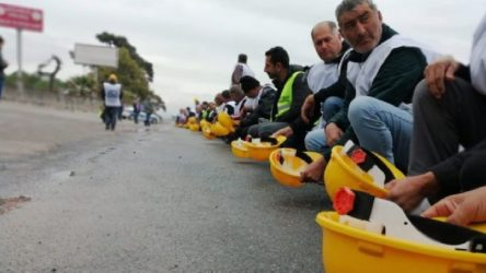 Ankara'ya yürüyen maden işçilerine gözaltı!