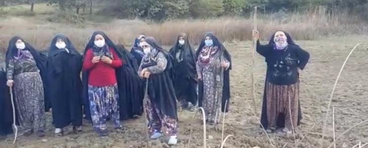 Kirazlıyayla köylüleri doğalarını savunmak için gece gündüz nöbet tutuyor