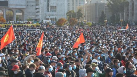 Kırgızistan'da protestolara yol açan seçimler iptal edildi