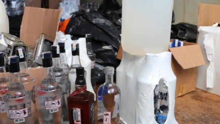 Kocaeli'nde sahte içki sattıkları iddia edilen 2 kişi gözaltına alındı