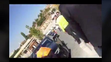 MHP'li vekilin şoförü belediye personelini araçla ezmeye çalıştı!