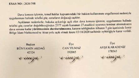 Baro genel kurallarının ertelenmesinin yasaya aykırı olmasıyla ilgili ilk mahkeme kararı çıktı