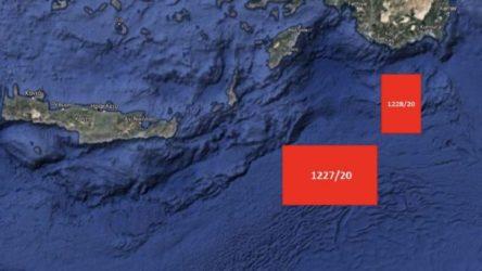 Yunanistan'dan Doğu Akdeniz'de iki yeni NAVTEX