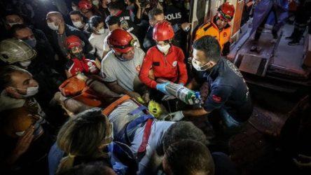 İzmir'de enkaz altındaki 2 kişiye daha ulaşıldı