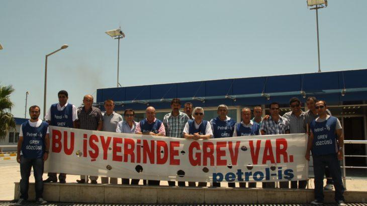 Cumhurbaşkanı imzaladı: Petrol-İş'in grevi ertelendi