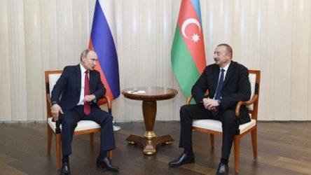 Putin'le görüşen Aliyev'den Ermenistan'a diyalog çağrısı