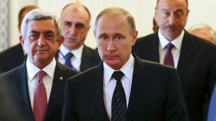 Putin: Ermenistan'a karşı belirli sorumluluklarımız var; fakat bu çatışmalar Ermenistan toprağında yapılmıyor