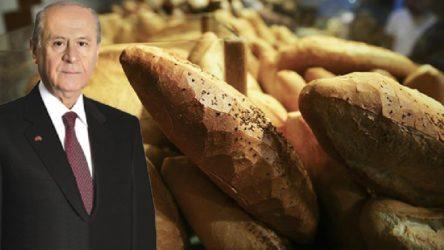 Bahçeli'den 'askıda ekmek' eleştirilerine garip yanıt