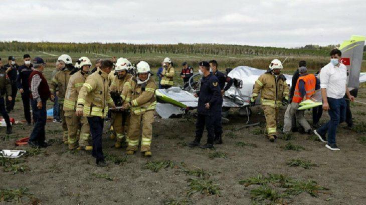 Düşen eğitim uçağında yaralanan pilotaj öğrencisi hayatını kaybetti