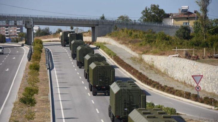 S-400 konvoyu Sinop'ta