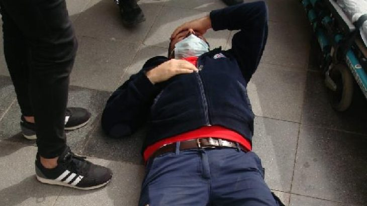 Denetim yapan sağlık çalışanına saldırı