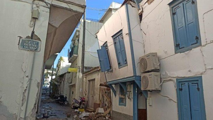 Depremin merkez üssü Sisam Adası'nda iki öğrenci hayatını kaybetti
