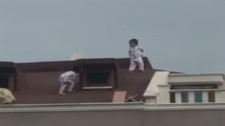 VİDEO | Sultanbeyli'de çatıda oynayan çocukların annesi: Kuran okuyordum haberim olmadı