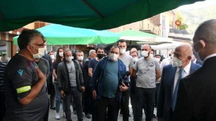 Bakan'ın yanında TFF başkanına 'sitem'