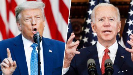 Seçimlere 25 gün kala Biden, Trump'ı geçti