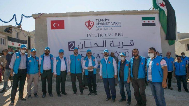 SMS'lerle para toplayan Türk Diyanet Vakfı, Suriye'de 30 milyon liraya 'iyilik konutu' yaptırıyor