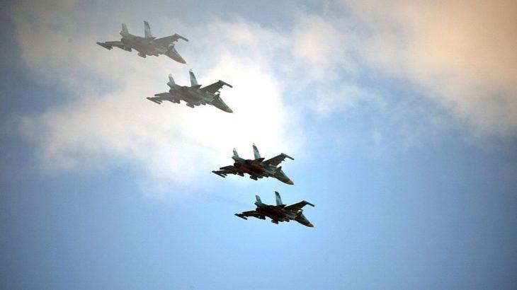 Rus jetlerinden Karadeniz üzerinde İngiliz uçaklarına önleme