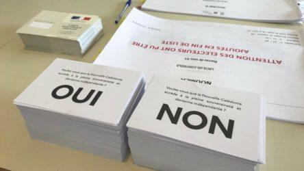 Yeni Kaledonya'nın bağımsızlık referandumunda yüzde 53 oranında hayır oyu