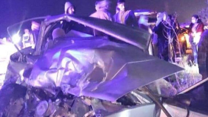 Tekstil işçilerini taşıyan minibüs ile otomobil çarpıştı: 14 yaralı