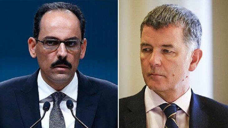 İbrahim Kalın, İngiliz dış istihbarat servisi MI6'nın başkanı ile görüştü