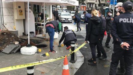 Beşiktaş'ta patlama: 1'i ağır 2 işçi yaralı