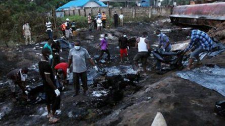 Nijerya'da bir kamyon pazara girdi: 20 ölü