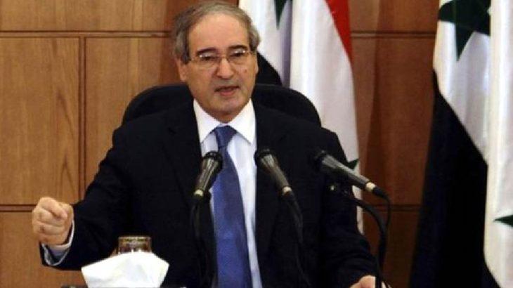 Faysal Mikdat, Suriye'de yeniden Dışişleri Bakanı oldu