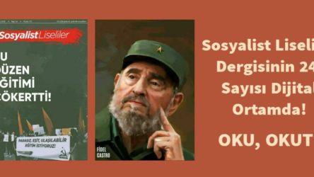 Sosyalist Liseliler dergisinin 24. sayısı çıktı!