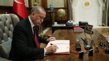 7 Bakanlığa Erdoğan atamaları