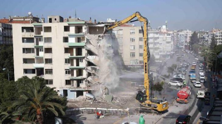 Bakanlık: Acil yıkılacak, ağır hasarlı bina sayısı 124