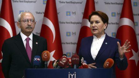 Akşener: Erdoğan'ın Bahçeli ve arkadaşlarını pışpışlama dönemi