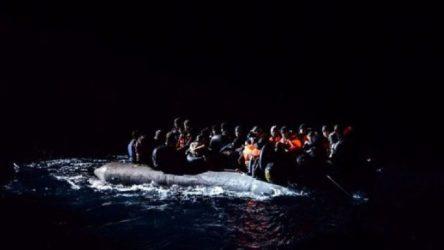 Akdeniz'de göçmenleri taşıyan bot battı: 1'i çocuk 6 kişi hayatını kaybetti